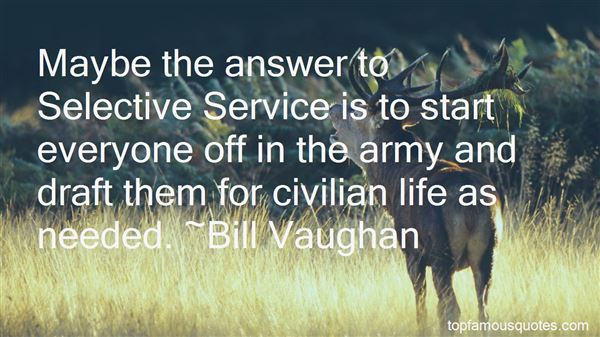 Quotes About Army Service