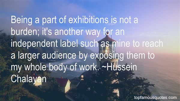 Quotes About Art Exhibitions