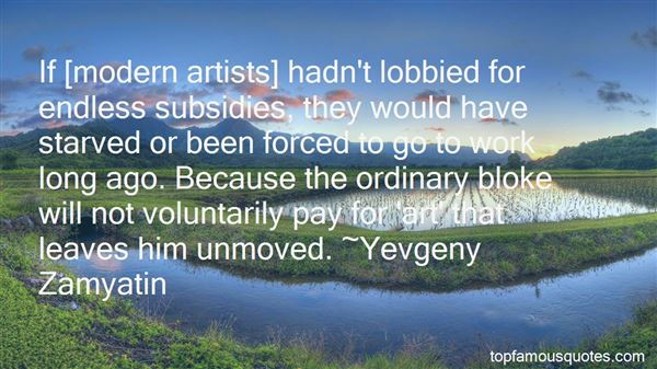 Quotes About Artists Work