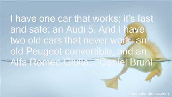 Quotes About Audi Car
