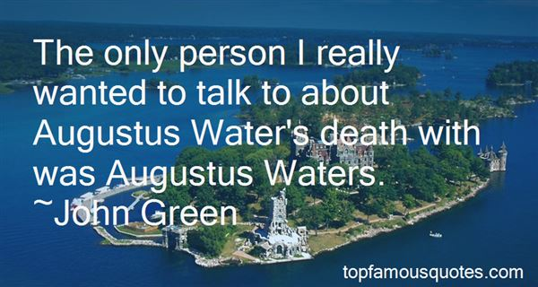 Quotes About Augustus Death