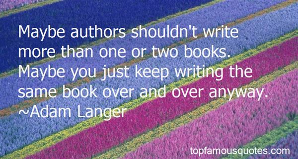 Quotes About Authors And Writing