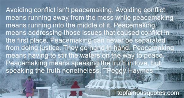 Quotes About Avoiding Conflict