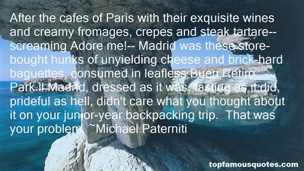 Quotes About Baguette
