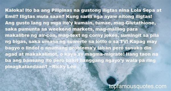 Quotes About Bangon Pilipinas