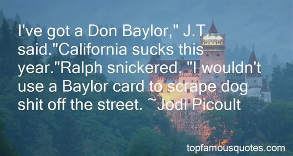 Quotes About Baylor