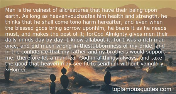 Quotes About Being A Man Of God