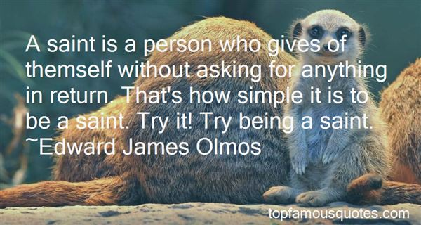Quotes About Being A Saint