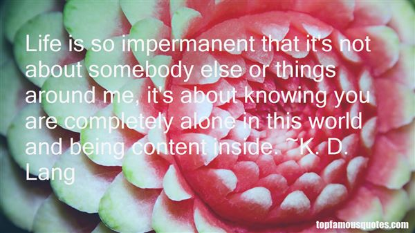 Quotes About Being Content Alone