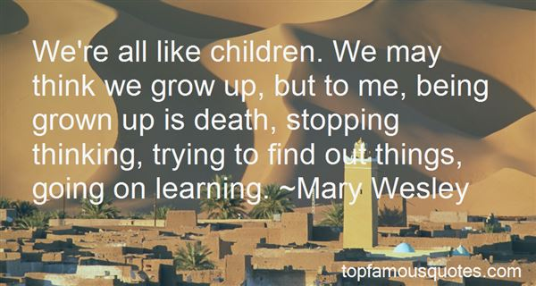 Quotes About Being Grown
