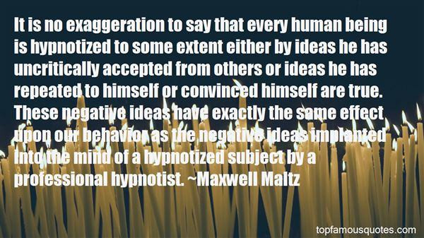 Quotes About Being Hypnotized