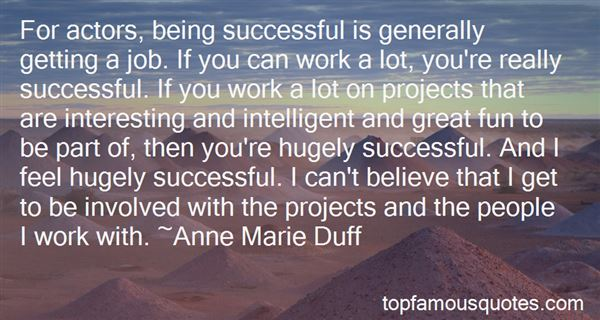Quotes About Being Successful At Work