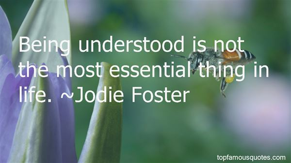 Quotes About Being Understood