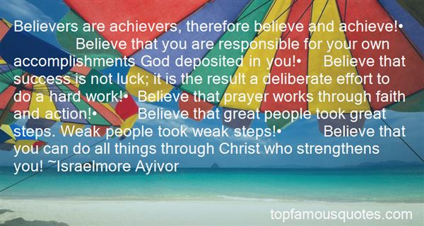 Quotes About Believe And Achieve