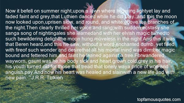 Quotes About Beren And Luthien