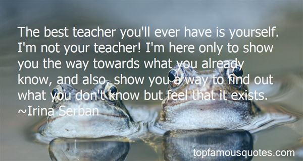 Quotes About Best Teacher Ever