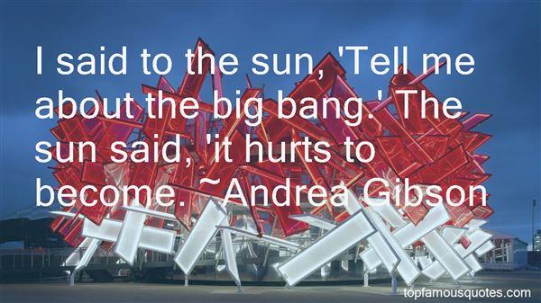 Quotes About Big Bang