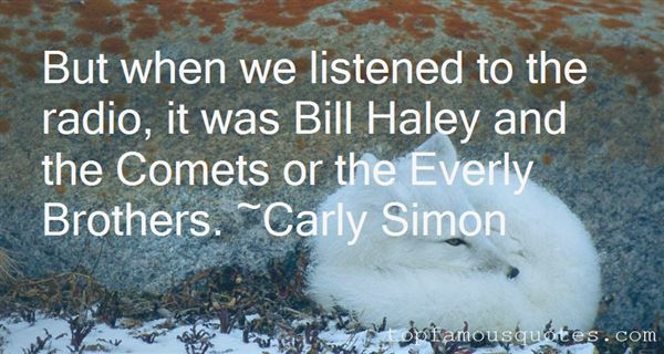 Quotes About Bill Haley And The Comets