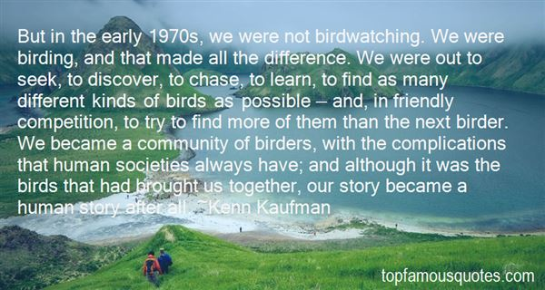 Quotes About Birders