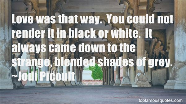 Quotes About Black Shades