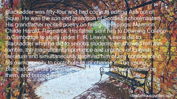 Quotes About Blackadder Baldrick