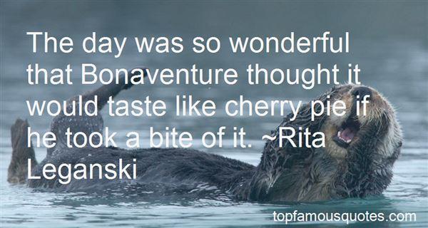 Quotes About Bonaventure