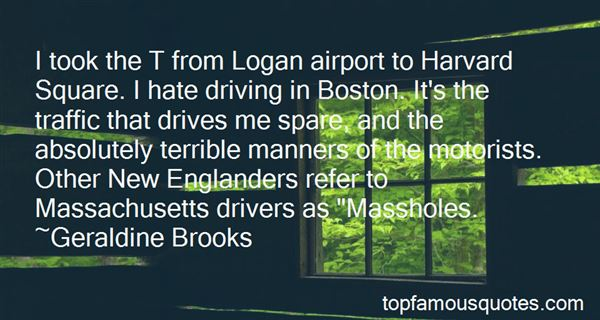 Quotes About Boston Mass