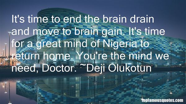 Quotes About Brain Drain