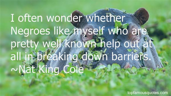 Quotes About Breaking Down Barriers