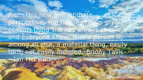 Quotes About Briony Tallis