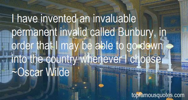 Quotes About Bunbury