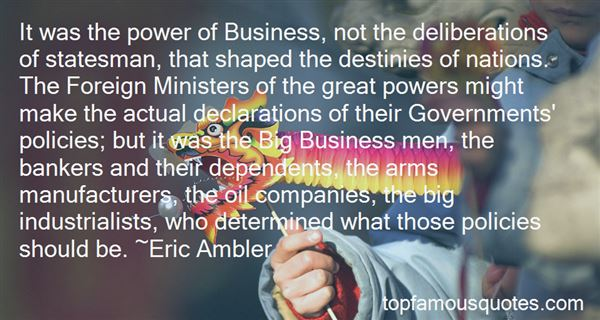 Quotes About Business Policies
