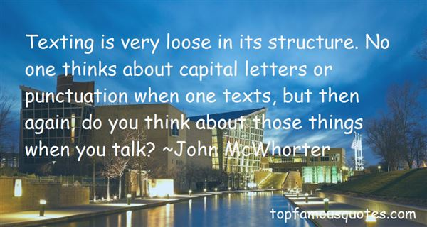 Quotes About Capital Letters