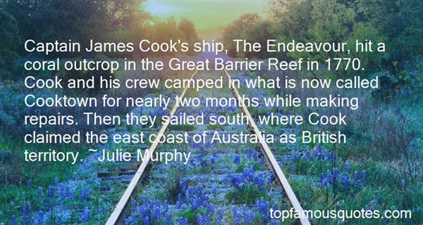 Quotes About Captain James Cook