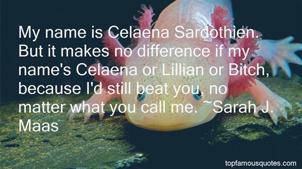 Quotes About Celaena Sardothien