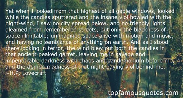 Quotes About Chaos And Madness