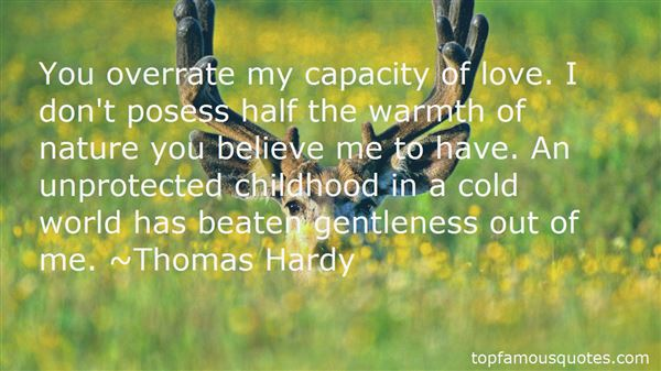 Quotes About Childhood And Nature