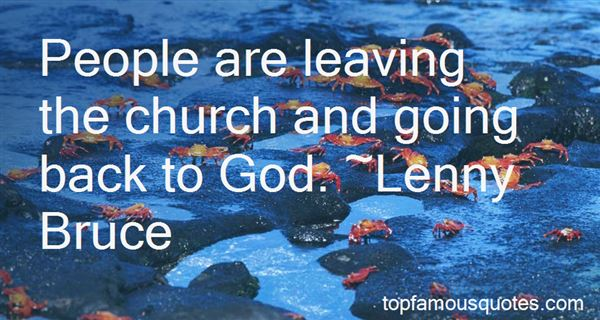 Quotes About Church Going