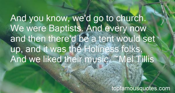 Quotes About Church Music
