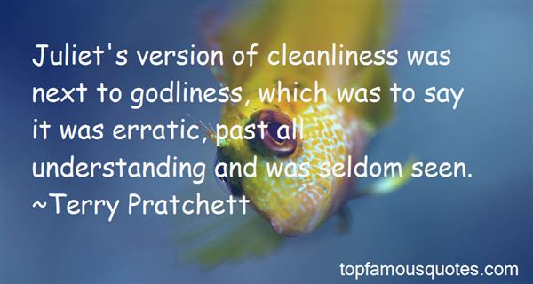 Quotes About Cleanliness And Orderliness