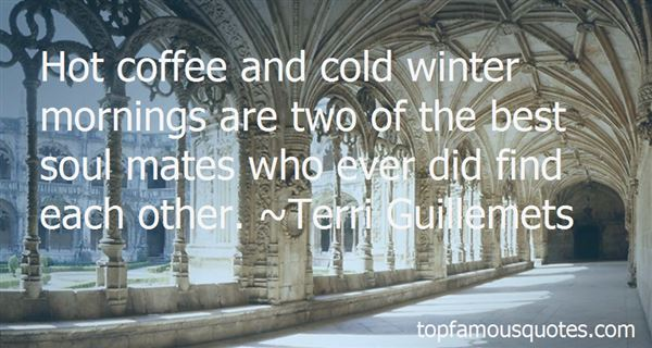 Quotes About Cold Mornings
