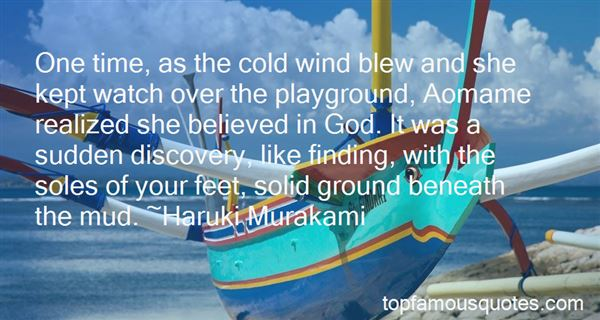 Quotes About Cold Wind