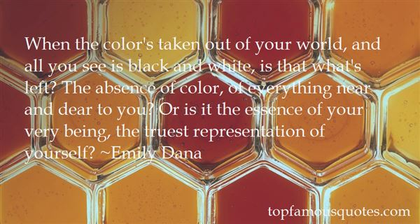 Quotes About Color Black And White