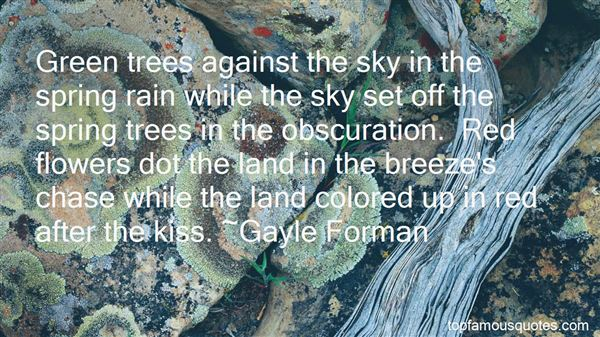 Quotes About Colored Sky