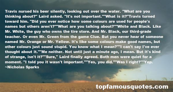 Quotes About Colour Yellow