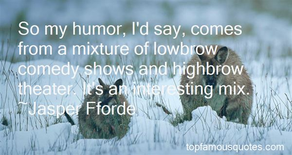 Quotes About Comedy Shows