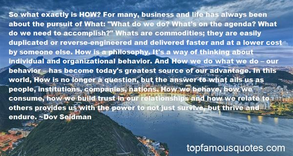 Quotes About Commodities