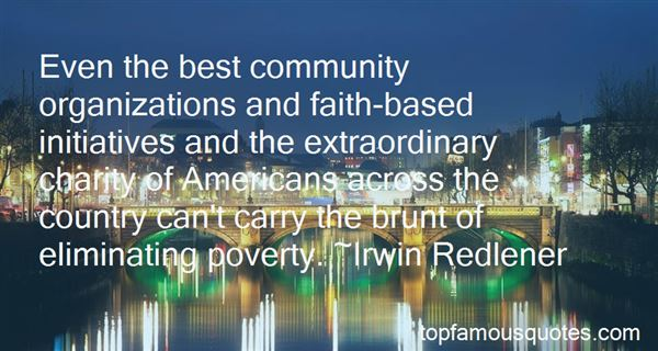 Quotes About Community Organizations