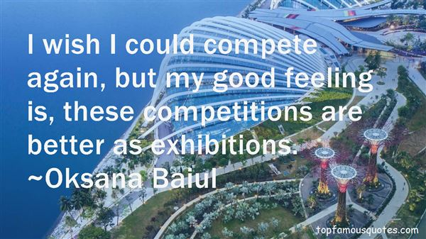 Quotes About Competitions