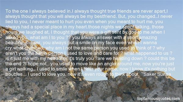 Quotes About Confusing Love And Friendship
